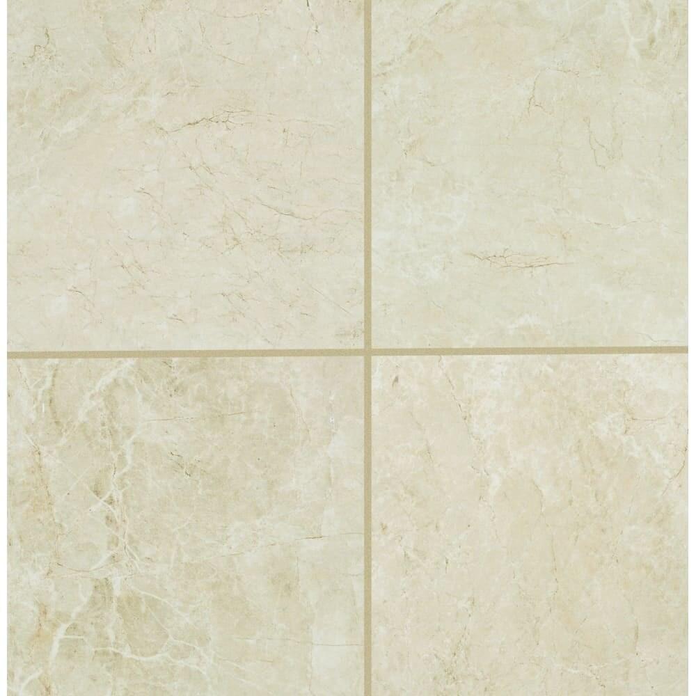 Shop Mohawk Industries 16150 Crema Marfil Porcelain Floor Tile 12