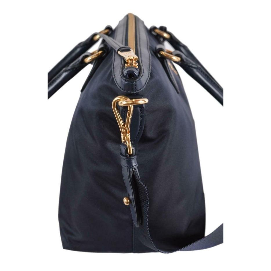 0bfbd2872c5bda Shop Prada 1BA104 Borsa A Mano Blue Nylon 2-Way Zip Purse Handbag Bag - Free  Shipping Today - Overstock - 27457036