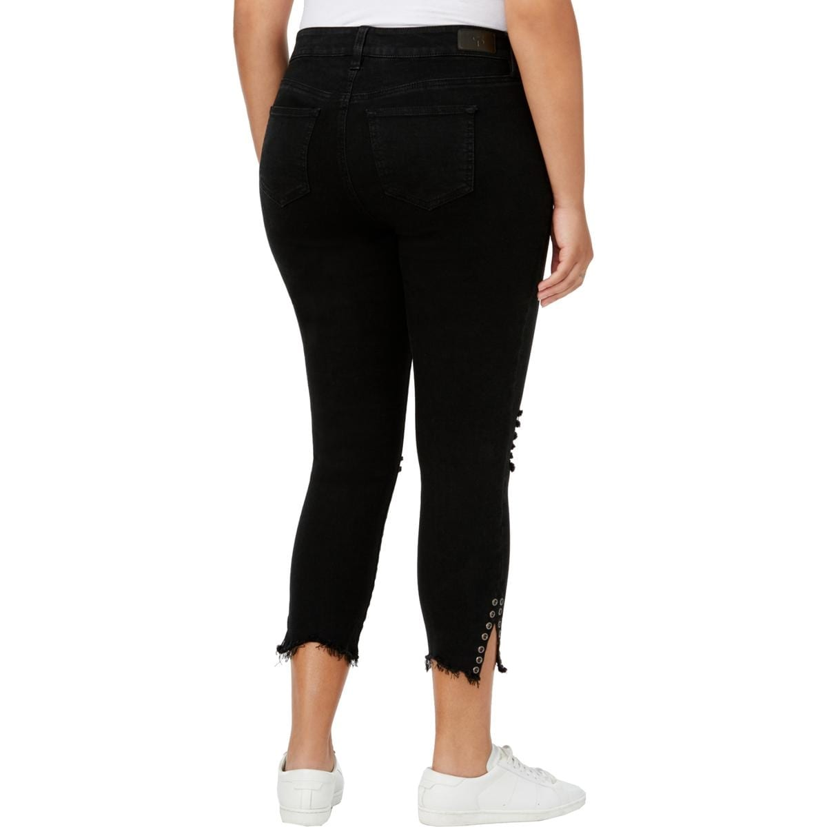8ad26e8dc38 Shop Celebrity Pink Womens Plus Ankle Jeans Destroyed Raw Hem - Free  Shipping On Orders Over  45 - Overstock.com - 25093095