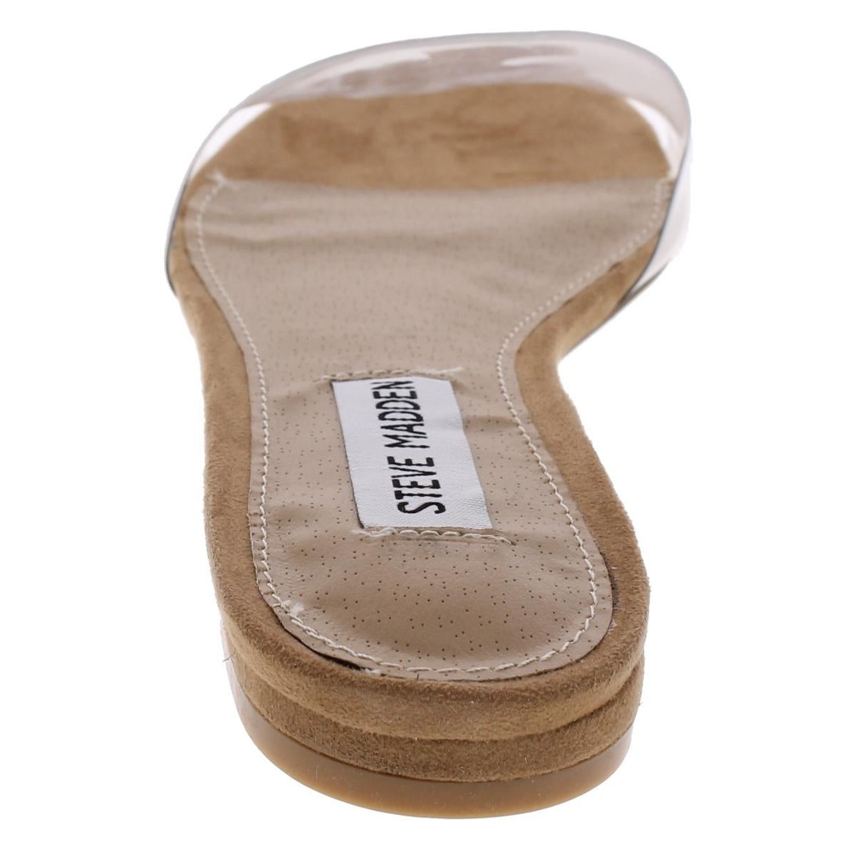38f35d5aca0 Steve Madden Womens Joyce Flat Sandals Open Toe Casual