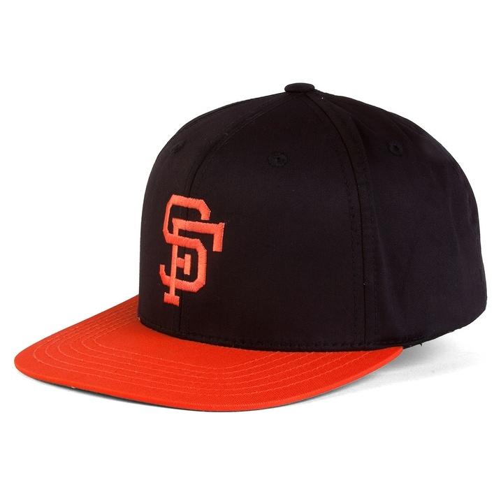 8e24dbd53e9 Shop American Needle San Francisco Giants Retro Snapback Hat Cap - Black  Orange - Free Shipping On Orders Over  45 - Overstock - 16948684