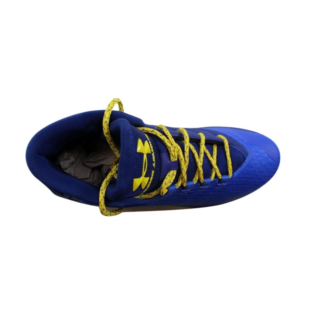Shop Under Armour Men s Curry 3 Dub Nation Heritage Team Royal Taxi  Yellow1269279-400 - Free Shipping Today - Overstock.com - 24015402 24aa0a30faac