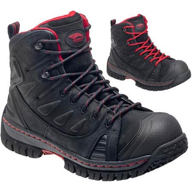 6285b6a658d Shop Avenger Men s A7723 Steel Toe EH WP Boot Black Leather - On Sale -  Ships To Canada - Overstock.ca - 11347490