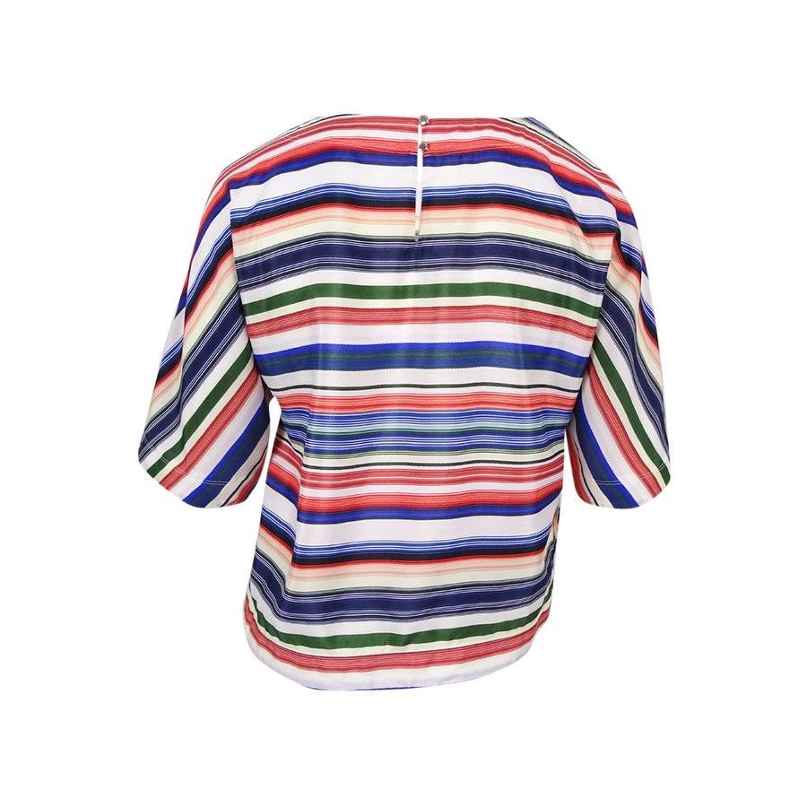 119b88f6a5708 Shop Vince Camuto Women s  Escape Stripe  Dolman Sleeve Blouse (L ...