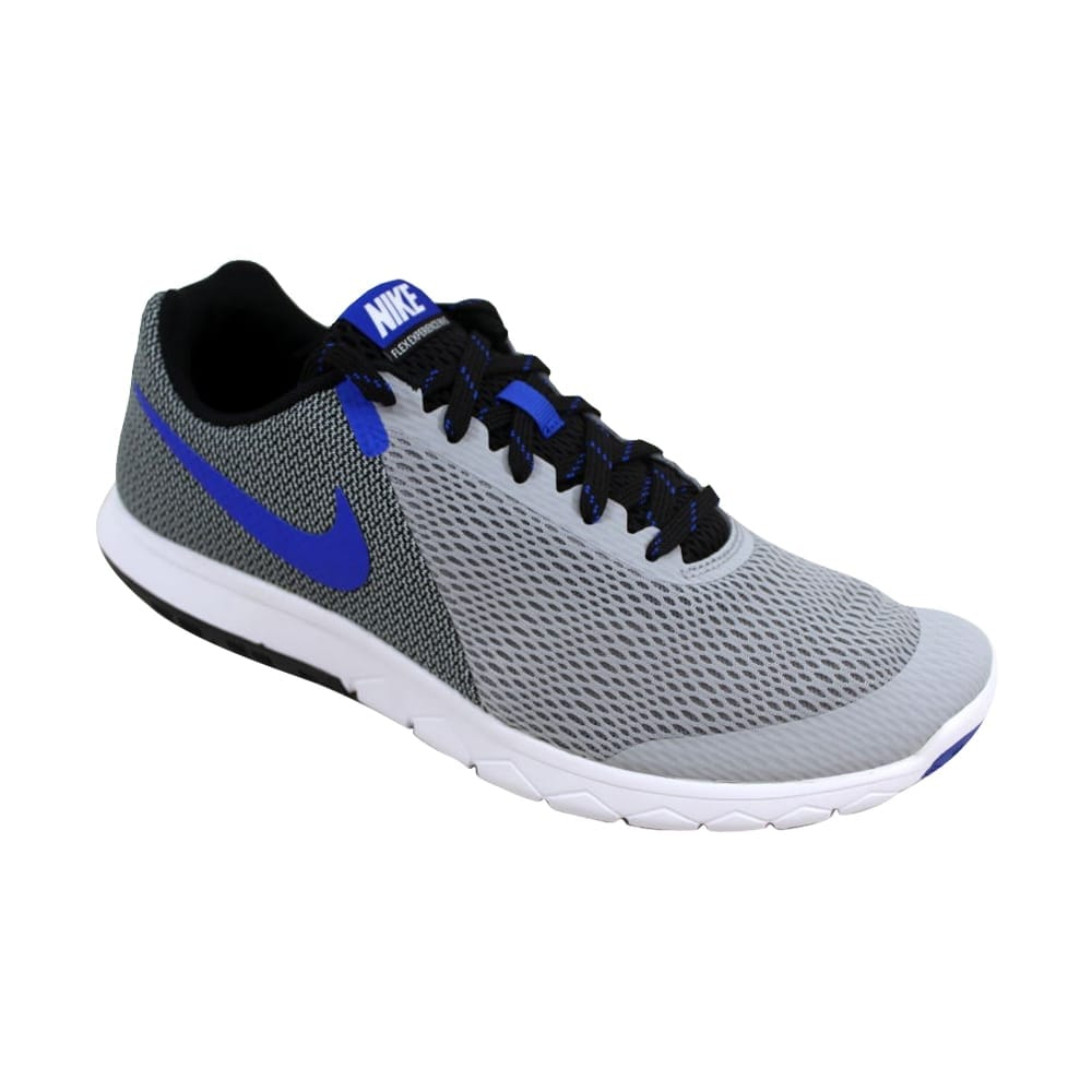 90d2380cd9ff Shop Nike Flex Experience RN 5 Wolf Grey Racer Blue-Black 844514-004 Men s  - Free Shipping Today - Overstock - 27338943