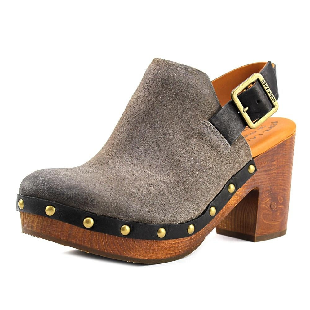 Shop Kork-Ease Rosalind Women Round Toe Synthetic Gray Clogs - Free  Shipping Today - Overstock.com - 17675782