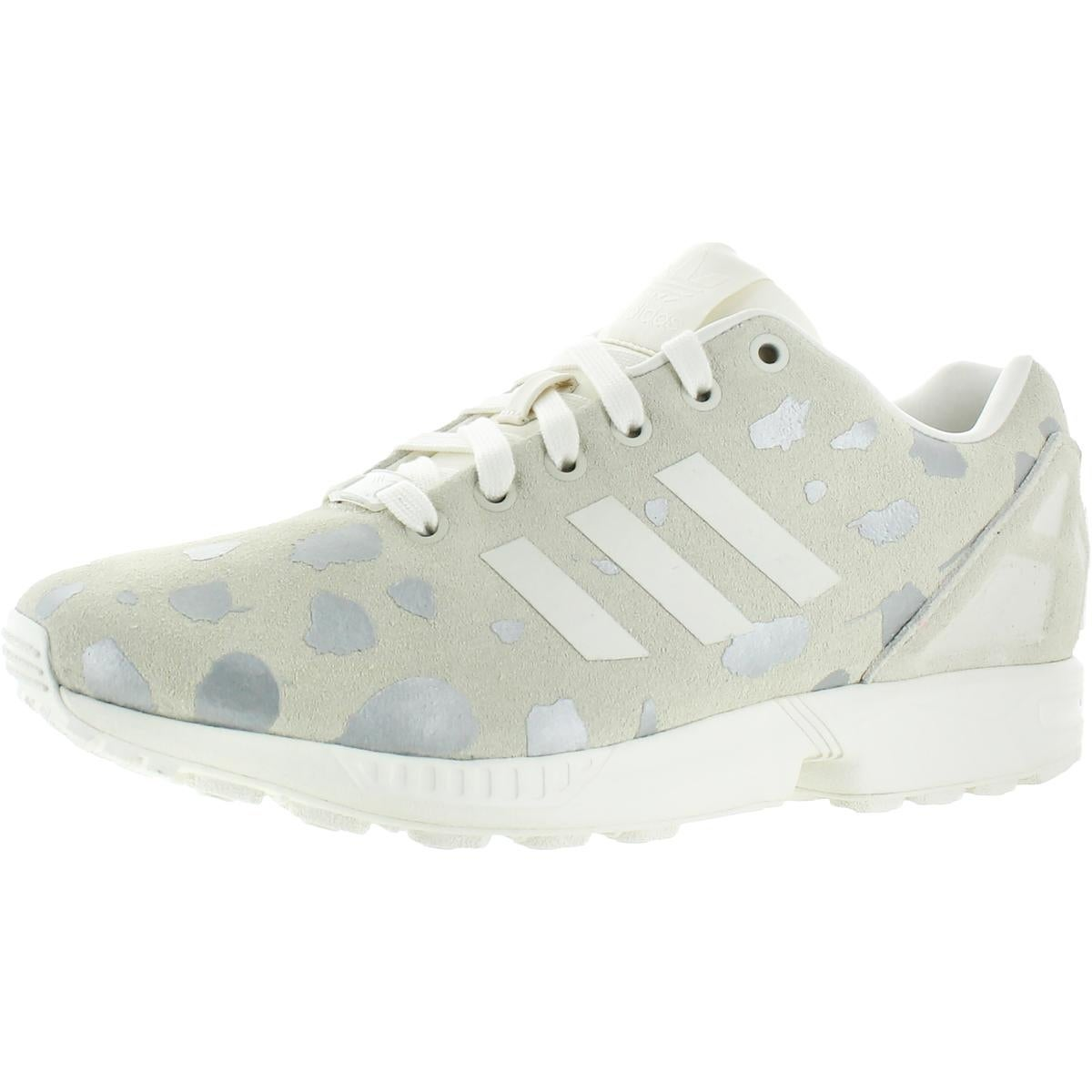 separation shoes f9950 1b09a Shop adidas Originals Womens ZX FLux Casual Shoes Suede Animal Print - 9  medium (b,m) - Free Shipping On Orders Over  45 - Overstock - 21942270