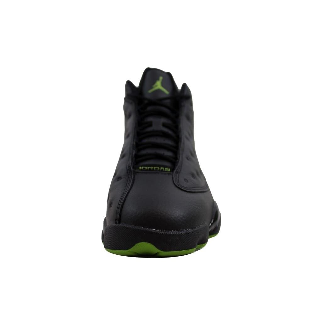 ead68ba55519 Shop Nike Men s Air Jordan XIII 13 Retro Black Altitude Green Altitude  414571-042 - Free Shipping Today - Overstock - 22340191
