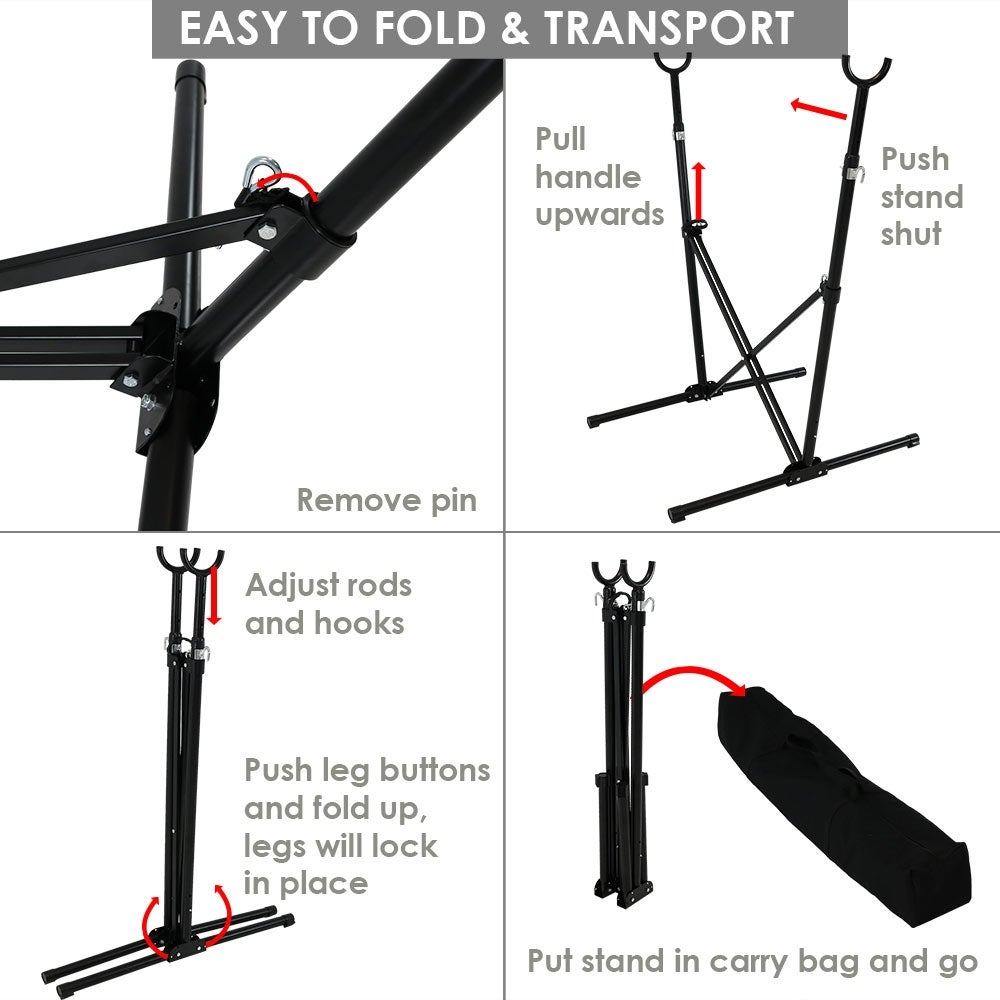 indoor and foldable diy stand outdoor pin hammock