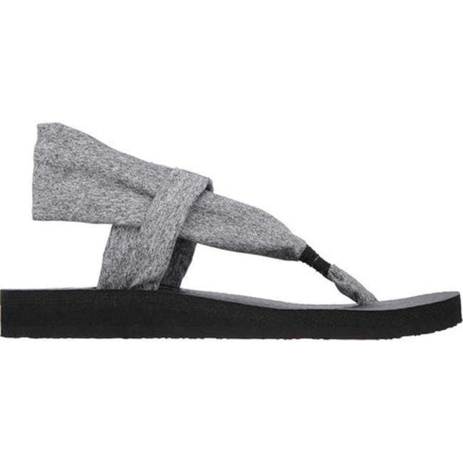 7c30994cca74 Shop Skechers Women s Meditation Studio Kicks Thong Sandal Gray - On Sale -  Free Shipping On Orders Over  45 - Overstock - 10890305