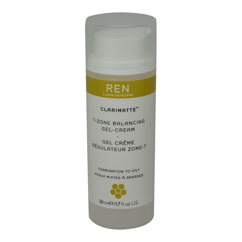 Ren - Clarimatte T-Zone Facial Balancing Gel Cream - 1.7 fl. oz. Glamglow Poutmud Sheer Tint Wet Lip Balm Treatment