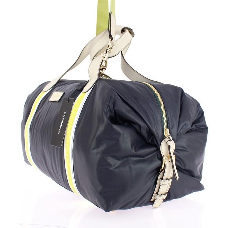 a8ff05502bb8 Shop Dolce   Gabbana Black nylon unisex boston bag - Free Shipping Today -  Overstock.com - 16714799