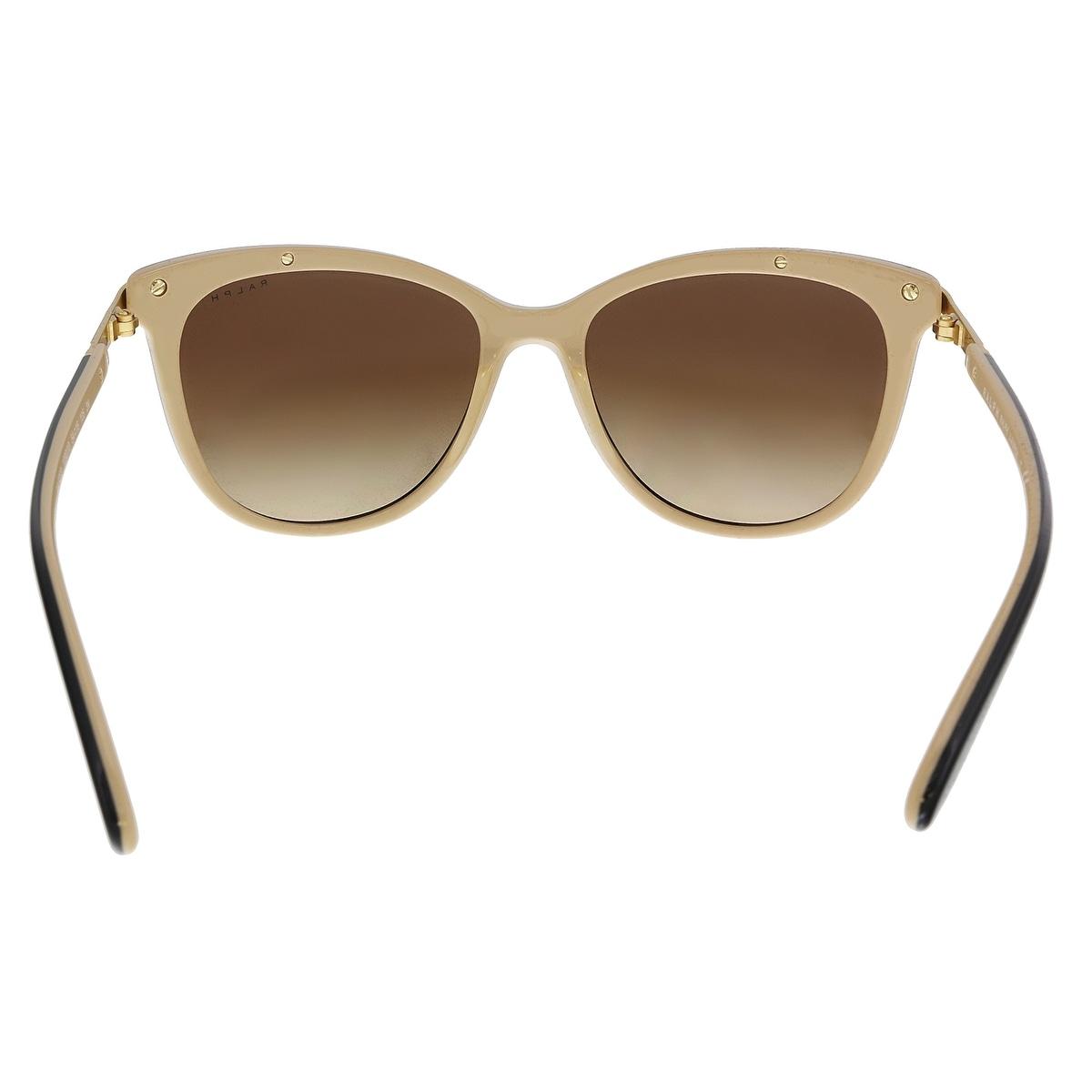 7ca651a93024 Shop Ralph Lauren RA5203 109013 Black Nude Cat eye Sunglasses - 54-16-135 - Free  Shipping Today - Overstock - 22087945