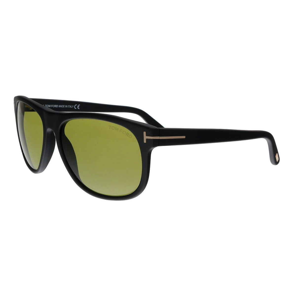 d565bf750daa4 Tom Ford FT0236 02N Olivier Matte Black Rectangular Sunglasses - No Size