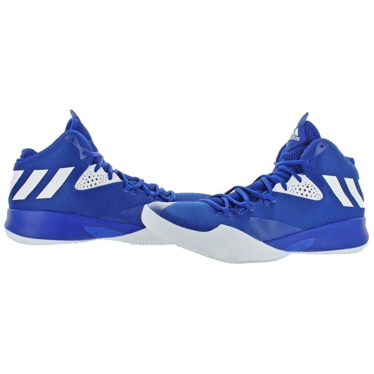 867b506dfac2a Adidas Mens Dual Threat 2017 Basketball Shoes Trainer Performance - 10.5  medium (d)