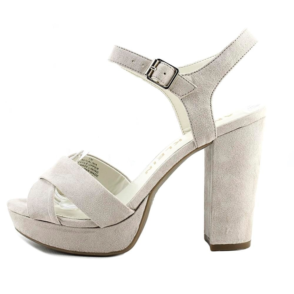 187b35736a6 Shop Anne Klein Lalima Women Open Toe Synthetic Gray Platform Heel - Free  Shipping Today - Overstock - 18597342