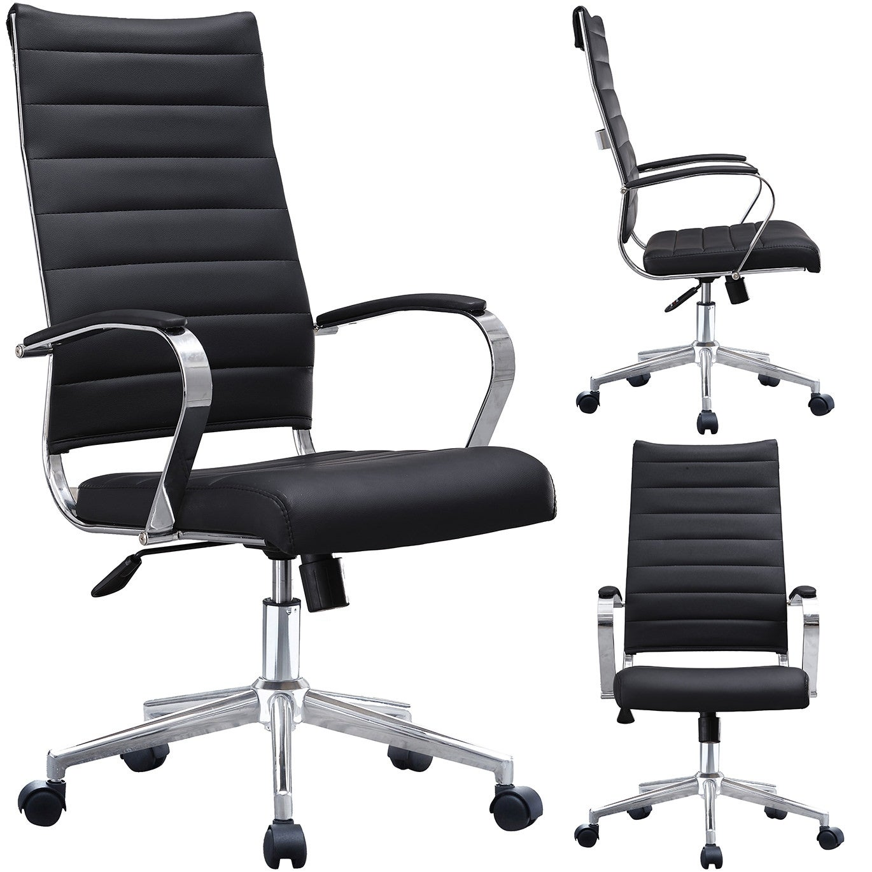 Shop Mid Century Modern Ergonomic Executive Office Chair Mid Back