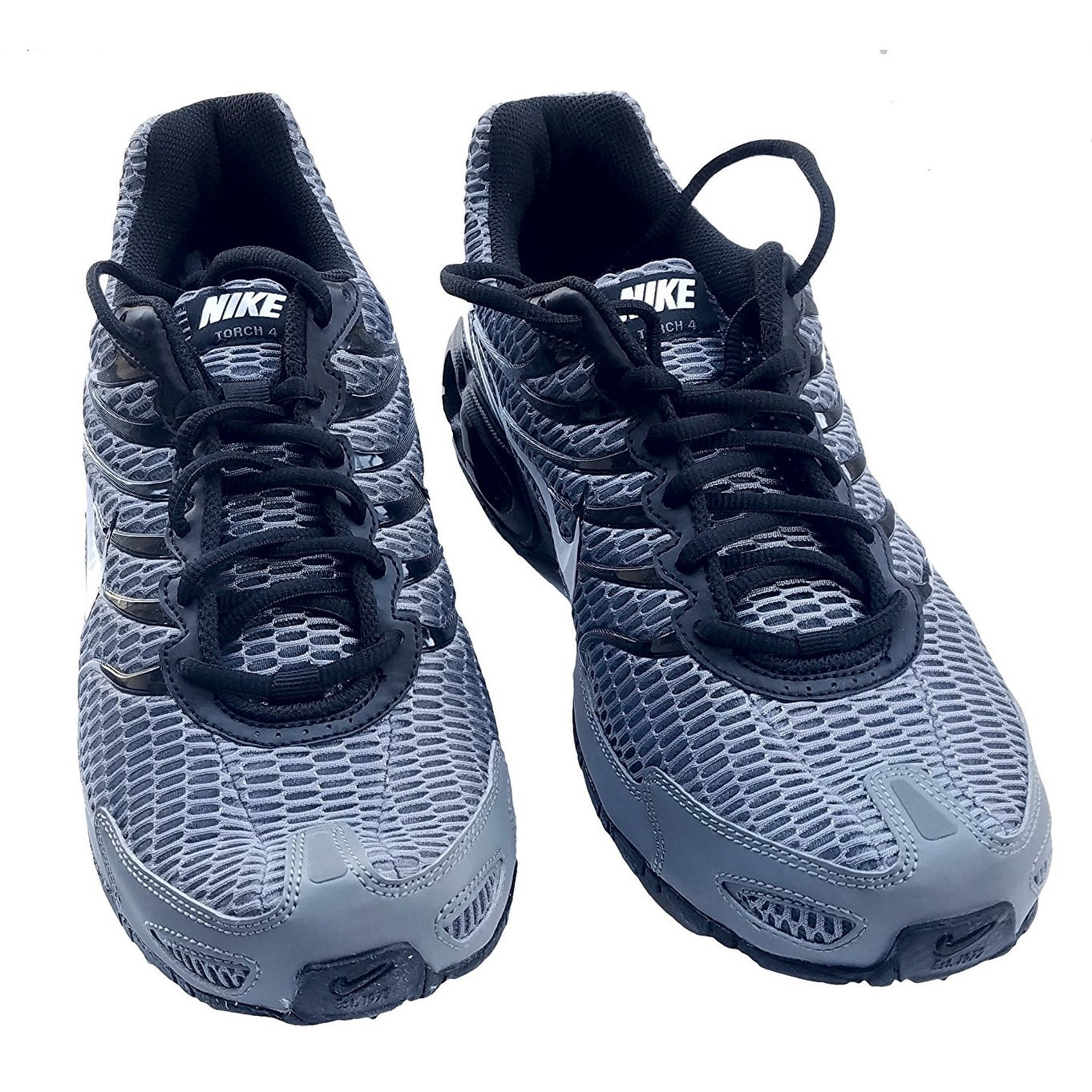 7b8e69bfff2 Shop Men s Nike Air Max Torch 4 Running Shoe Cool Grey White Black Pure  Platinum - Free Shipping Today - Overstock - 17941816