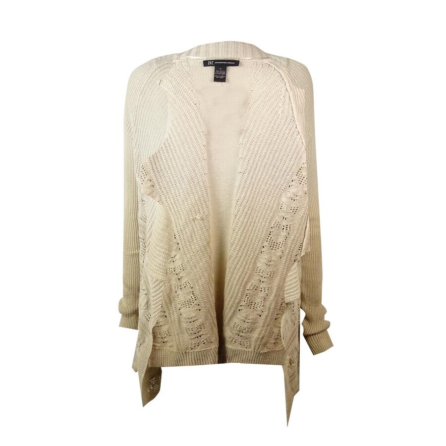 696948cd96 Shop INC International Concepts Women s Ombre Pointelle Cardigan - Free  Shipping On Orders Over  45 - Overstock - 14727739