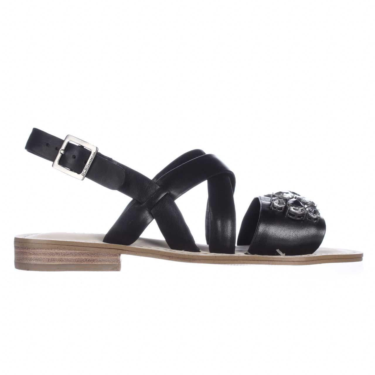 d6c51282ca294 Shop BCBGeneration Remmy Jeweled Flat Sandals