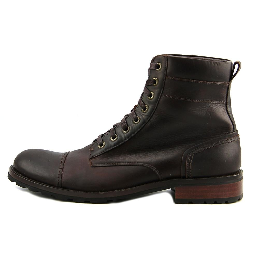 4e13a83edcc Wolverine Reese Men Cap Toe Leather Brown Boot