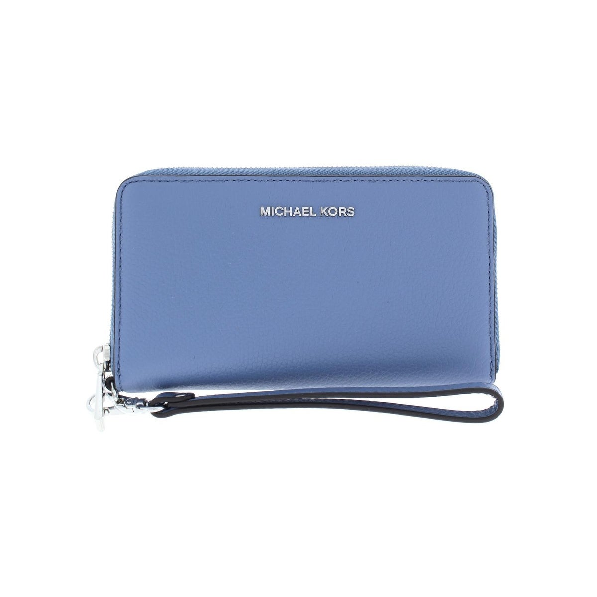 6137d9cf0fa4 Michael Kors Womens Mercer Wristlet Wallet Leather Identity Protection - o s