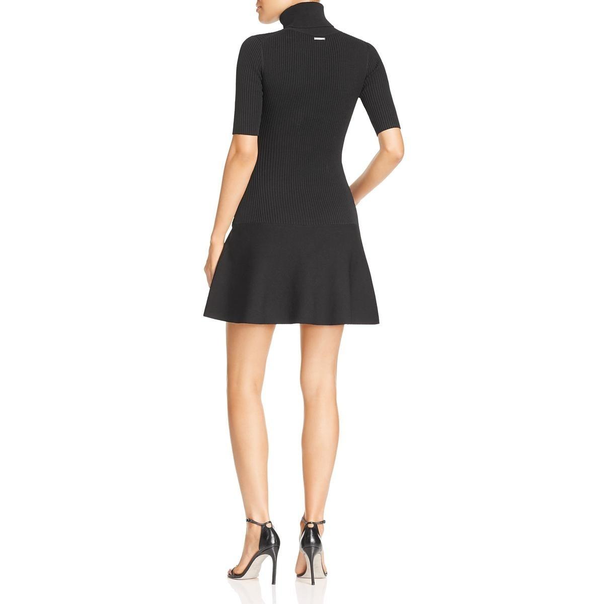 97fa409313d Shop MICHAEL Michael Kors Womens Sweaterdress Turtleneck Mini - Free  Shipping Today - Overstock - 22383434