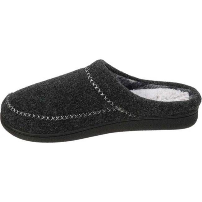 b4d407a5ebac2 Shop Dearfoams Women's Felt X-Stitch Clog Black Polyester - On Sale - Free  Shipping On Orders Over $45 - Overstock - 22866305