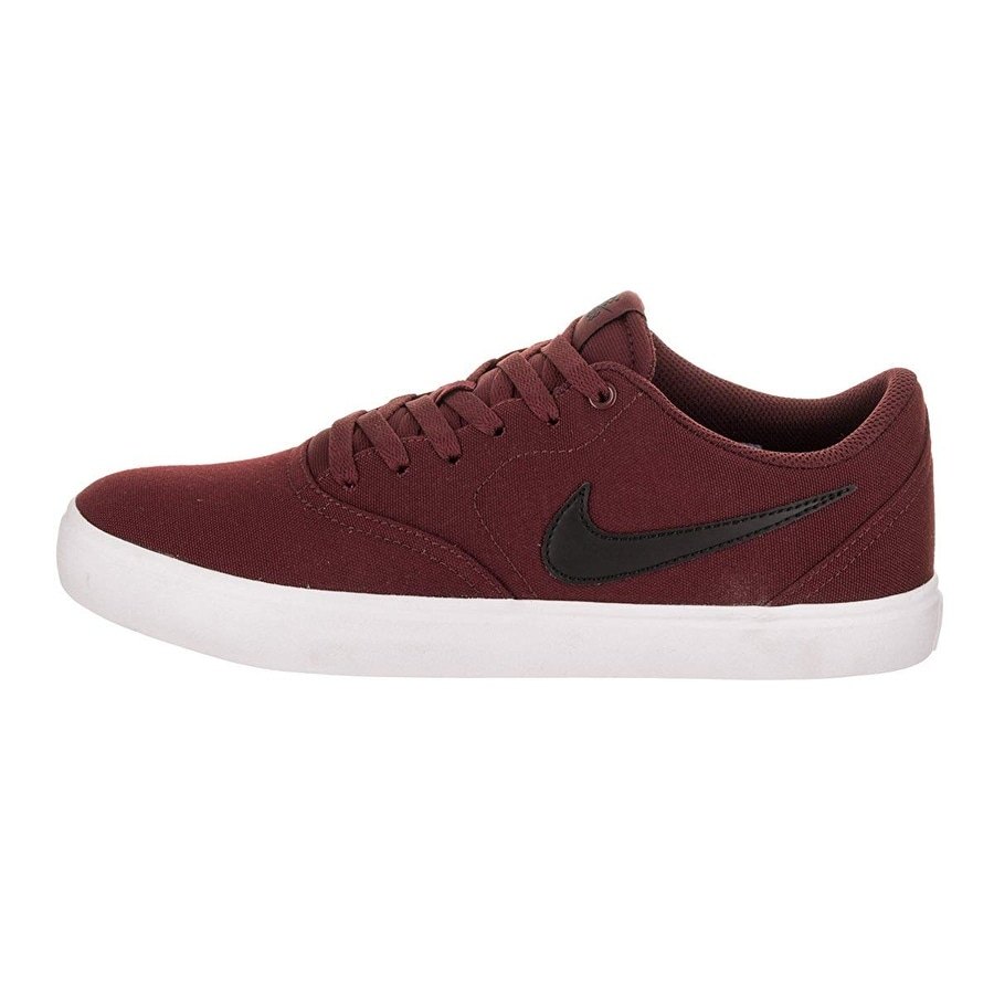 detailed look 0739c 0bc66 Shop Nike 843896-611  Sb Check Solarsoft Men Dark Team Red Black White  Sneaker (9.5 D(M) Us Mens) - Free Shipping Today - Overstock - 24264587