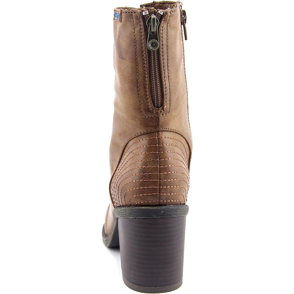 fe0e4367c5206 Blowfish Mammer Women Round Toe Synthetic Mid Calf Boot