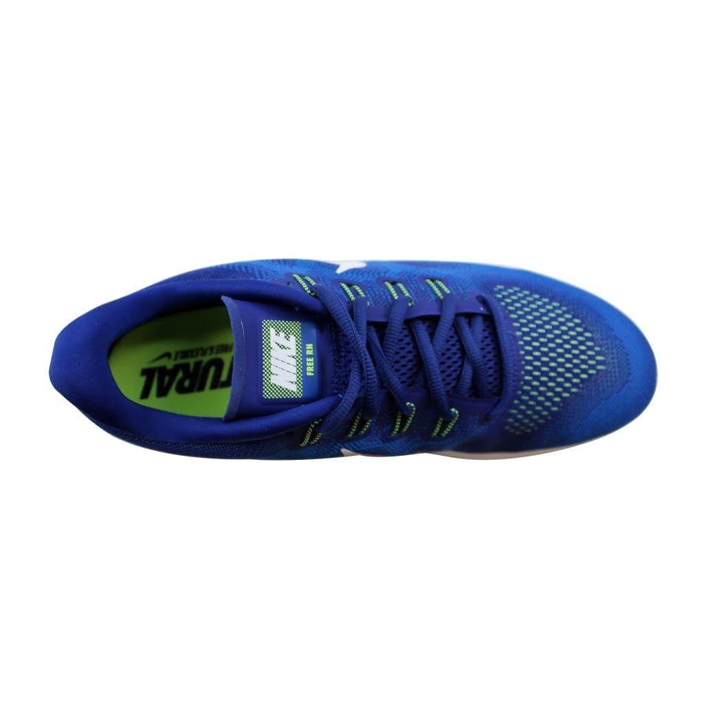 f3c9e1a662329 Shop Nike Men s Free Run 2017 Deep Royal Blue White-Soar 880839-401 - Free  Shipping Today - Overstock - 22340573
