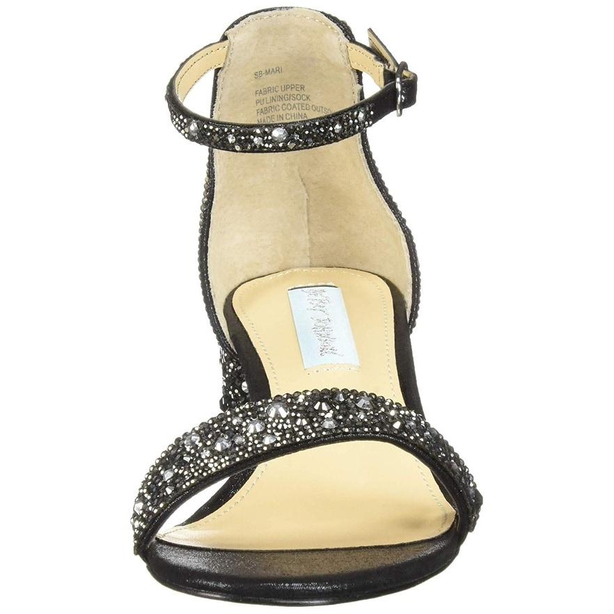 c5ea0d17b29 Shop Blue by Betsey Johnson Women s Sb-mari Heeled Sandal - Free Shipping  Today - Overstock - 27734966