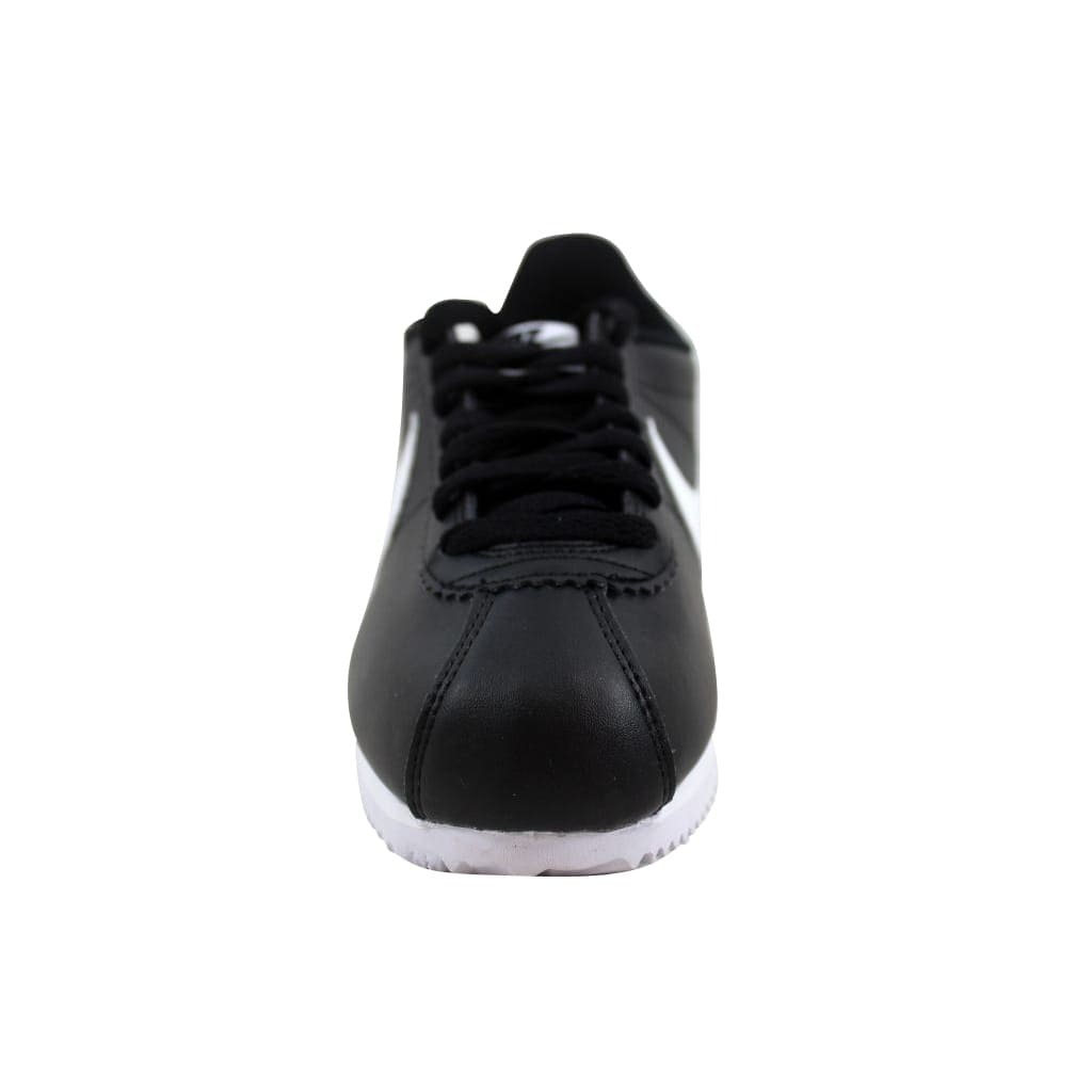 027e72910d5c Shop Nike Classic Cortez Leather Black White-White 807471-010 Women s - On  Sale - Free Shipping Today - Overstock - 27339098