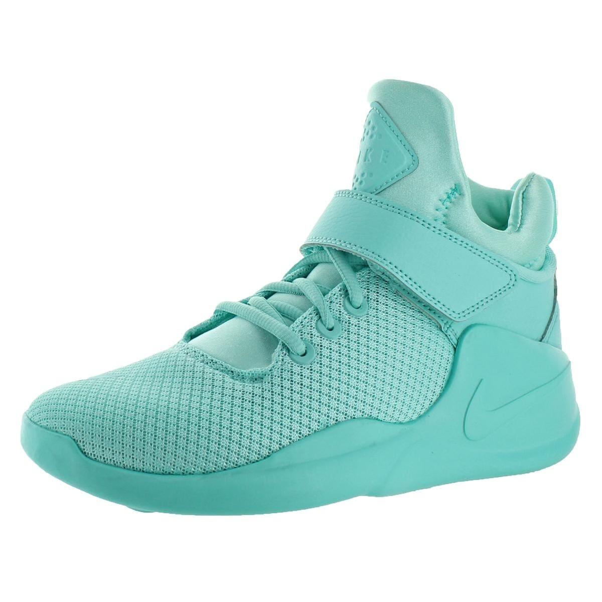 Shop Nike Womens Kwazi Basketball Shoes Mid Trainer - Free Shipping ... 2bbe7645c0