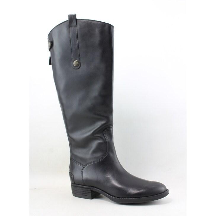 33e5e08060228f Shop Sam Edelman Womens Penny Black Riding Boots Size 5 - Free ...