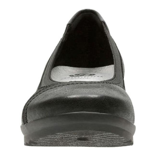 20abcf51918 Shop Clarks Women s Caddell Dash Wedge Black Synthetic Nubuck - Free  Shipping On Orders Over  45 - Overstock - 17417357