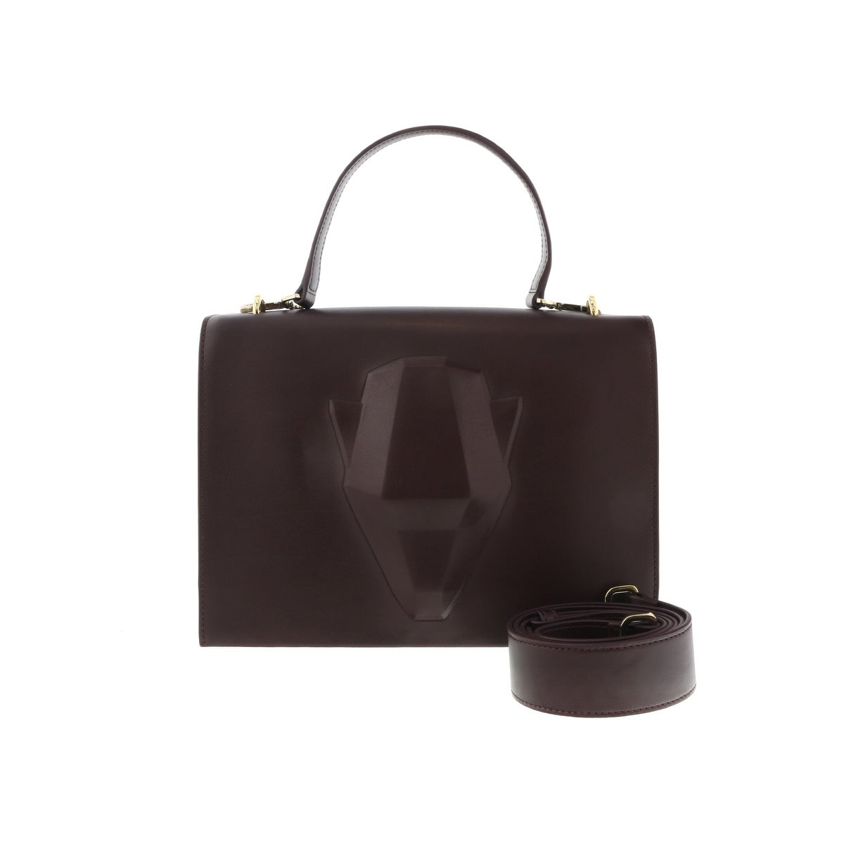 d38b1afa7b9e Shop Roberto Cavalli C73PWCOF0022064 Burgundy Panther 3D 002 Small Shoulder  Bag - Free Shipping Today - Overstock - 20626099