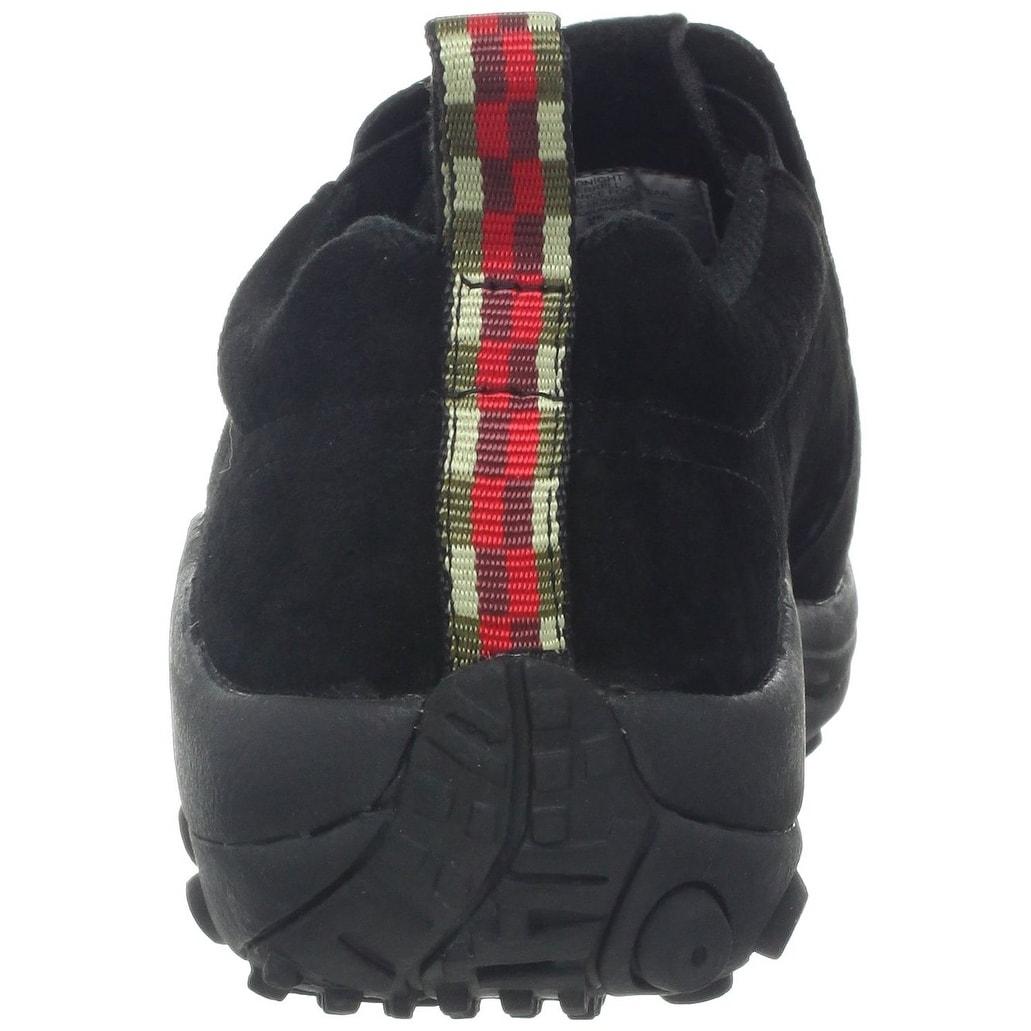 Merrell Men's Jungle Moc Nubuck Slip-On Shoe,Black Nubuck,10.5 M Us - 10.5  d(m) us - Free Shipping Today - Overstock.com - 21832165