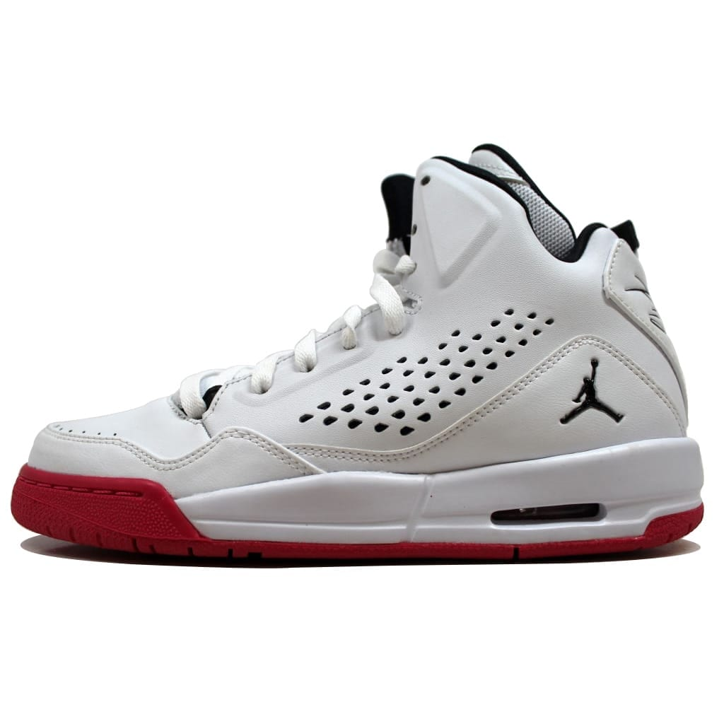 48efd2216cf0 Shop Nike Air Jordan SC-3 GG White Black-Vivid Pink 630611-109 Grade-School  - On Sale - Free Shipping Today - Overstock - 19507586