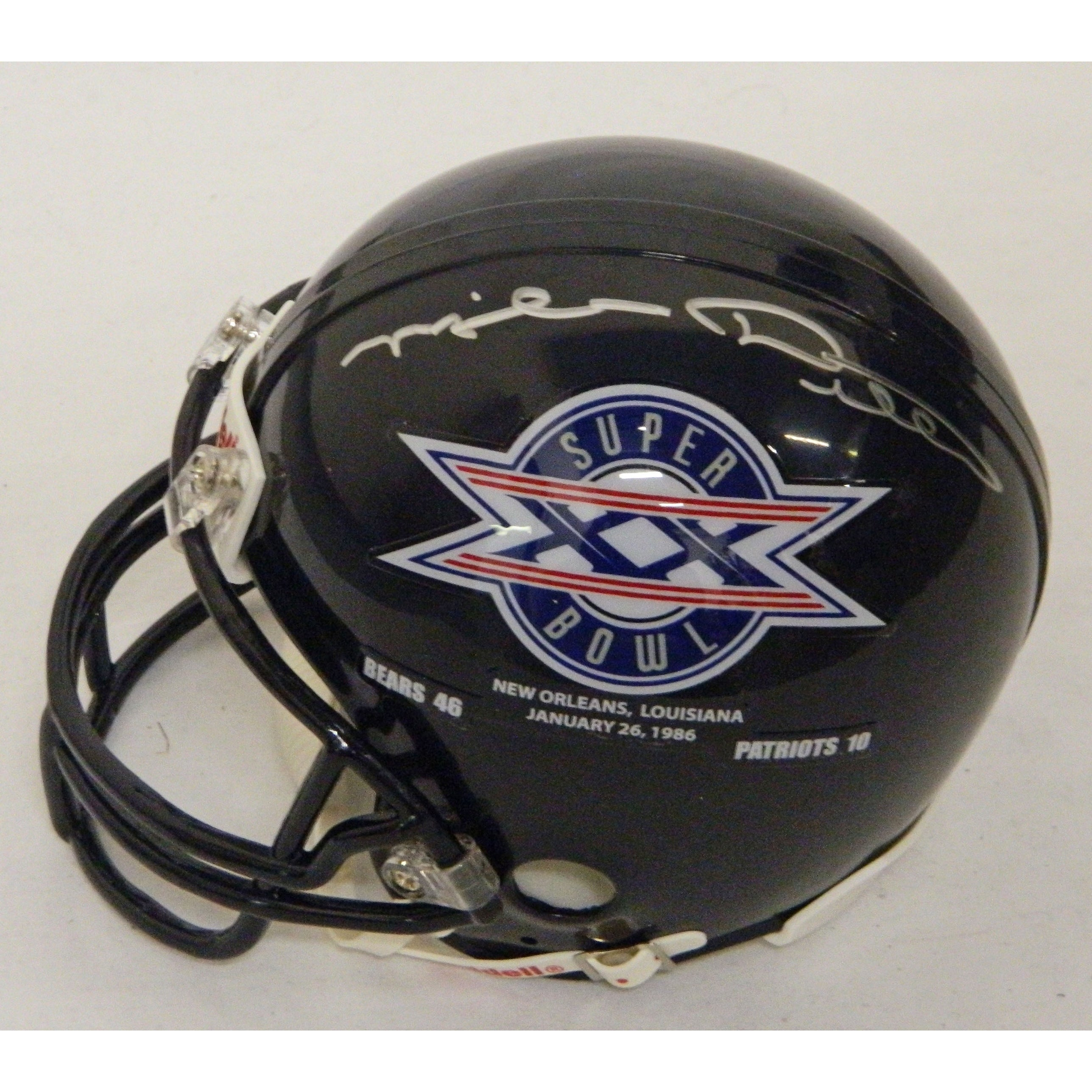 38d57492234 Shop Mike Ditka Bears SB XX Champs Logo Riddell Replica Mini Helmet - Free  Shipping Today - Overstock - 13274631