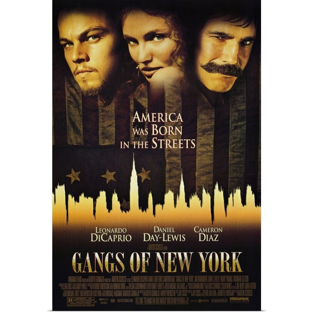 Shop Poster Print Entitled Gangs Of New York 2002 Multi Color