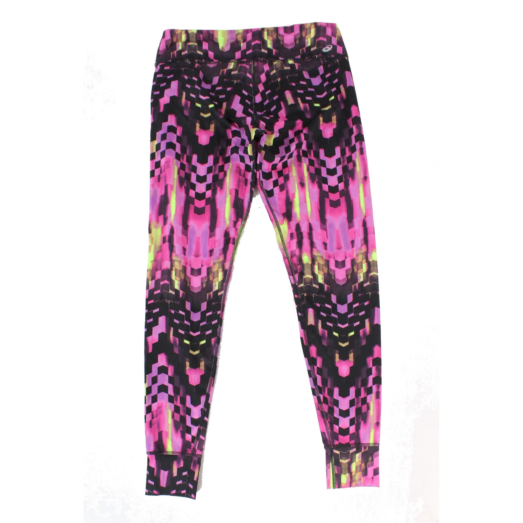 7d025be86f42 Shop Asics Purple Women s Size Large L Leggings Geo Checkered Pants - On  Sale - Free Shipping On Orders Over  45 - Overstock.com - 21724087