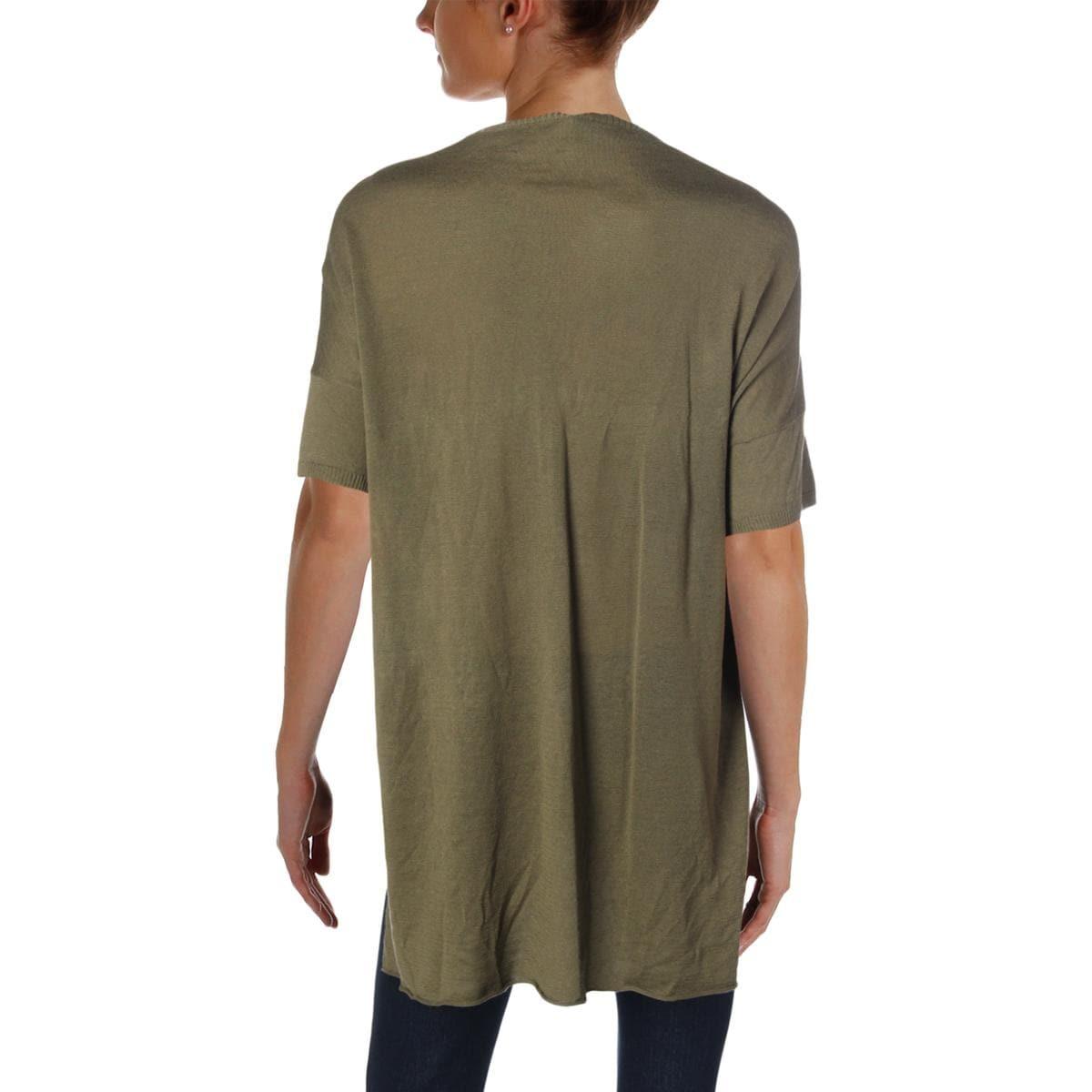 de7d9f7e21 Shop Eileen Fisher Womens Tunic Sweater Organic Linen High-Low - Free  Shipping Today - Overstock - 25688750