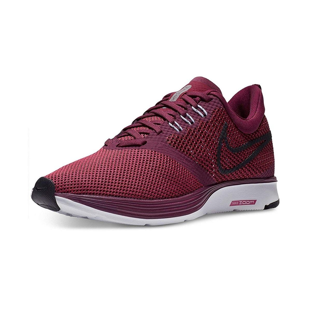 ec7ae28a29ff3 Nike Womens Wmns Zoom Strike Bordeaux/Black Rush Maroon Wht Size 9