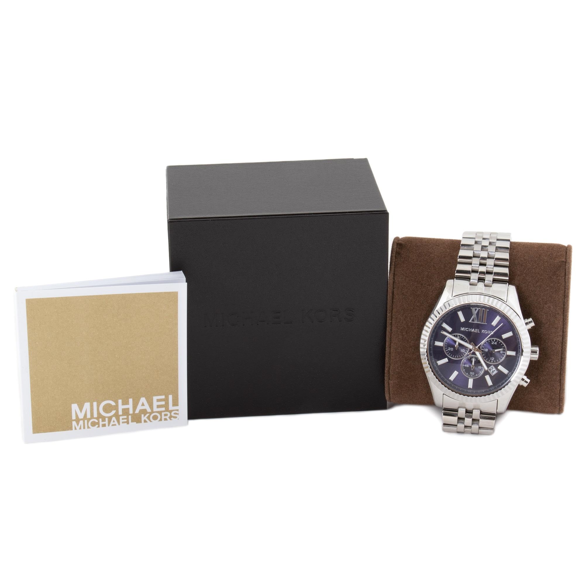 b1eb51a05131 Shop Michael Kors Lexington Chronograph Mens Watch MK8280