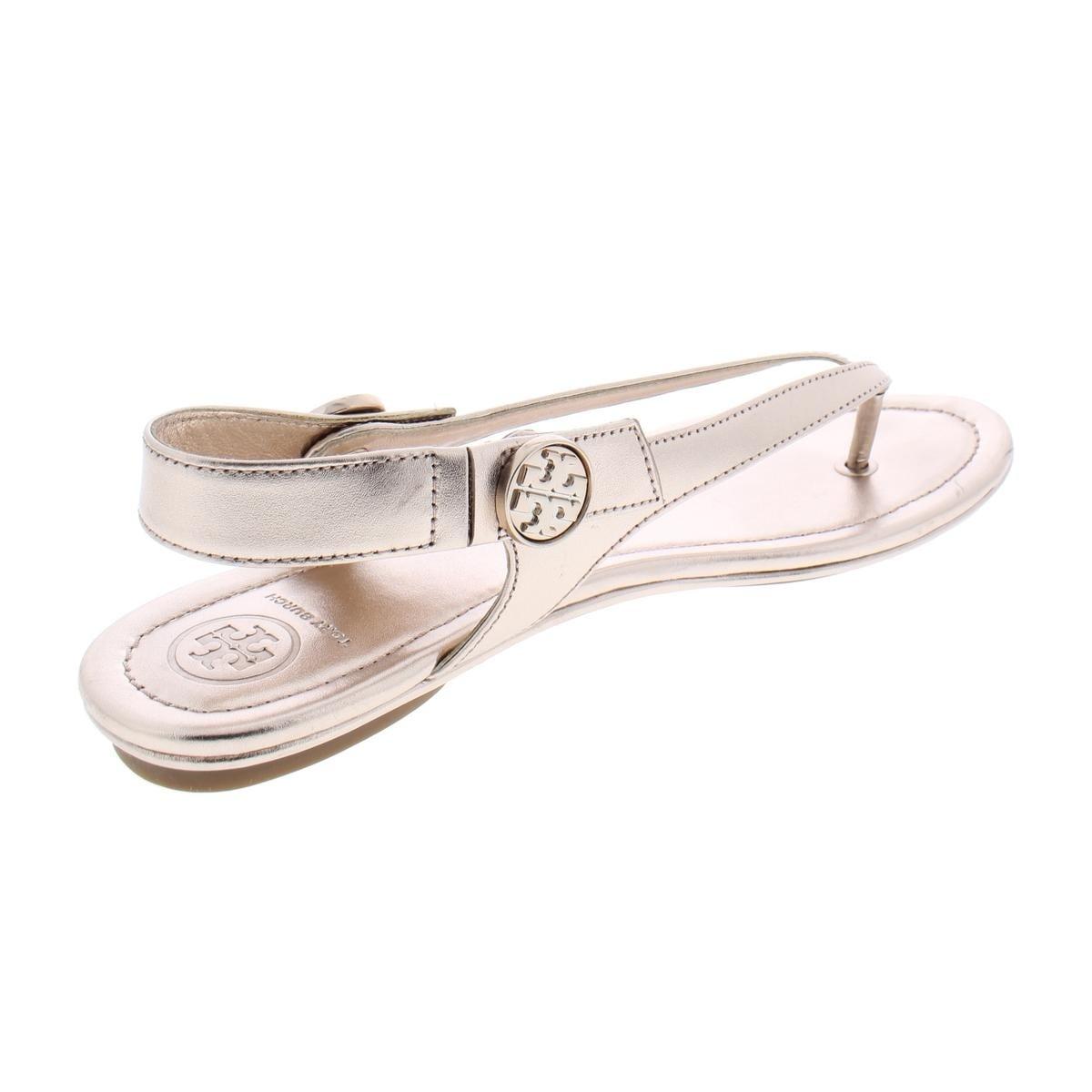 09aae20f1 Shop Tory Burch Womens Minnie Travel Sandal Flat Sandals Flats Thongs - 8.5  Medium (B