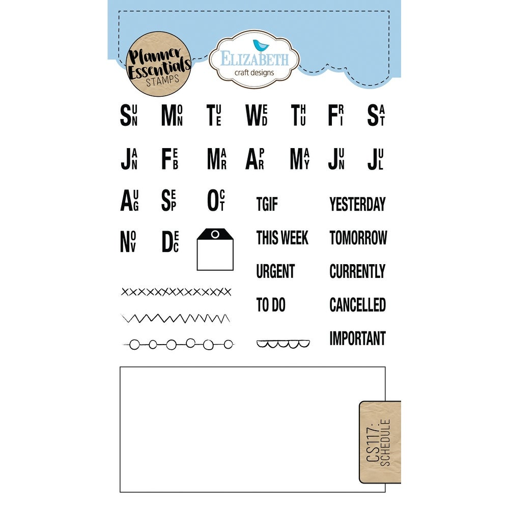 Shop Elizabeth Craft Clear Stamps Schedule Free Shipping On Orders