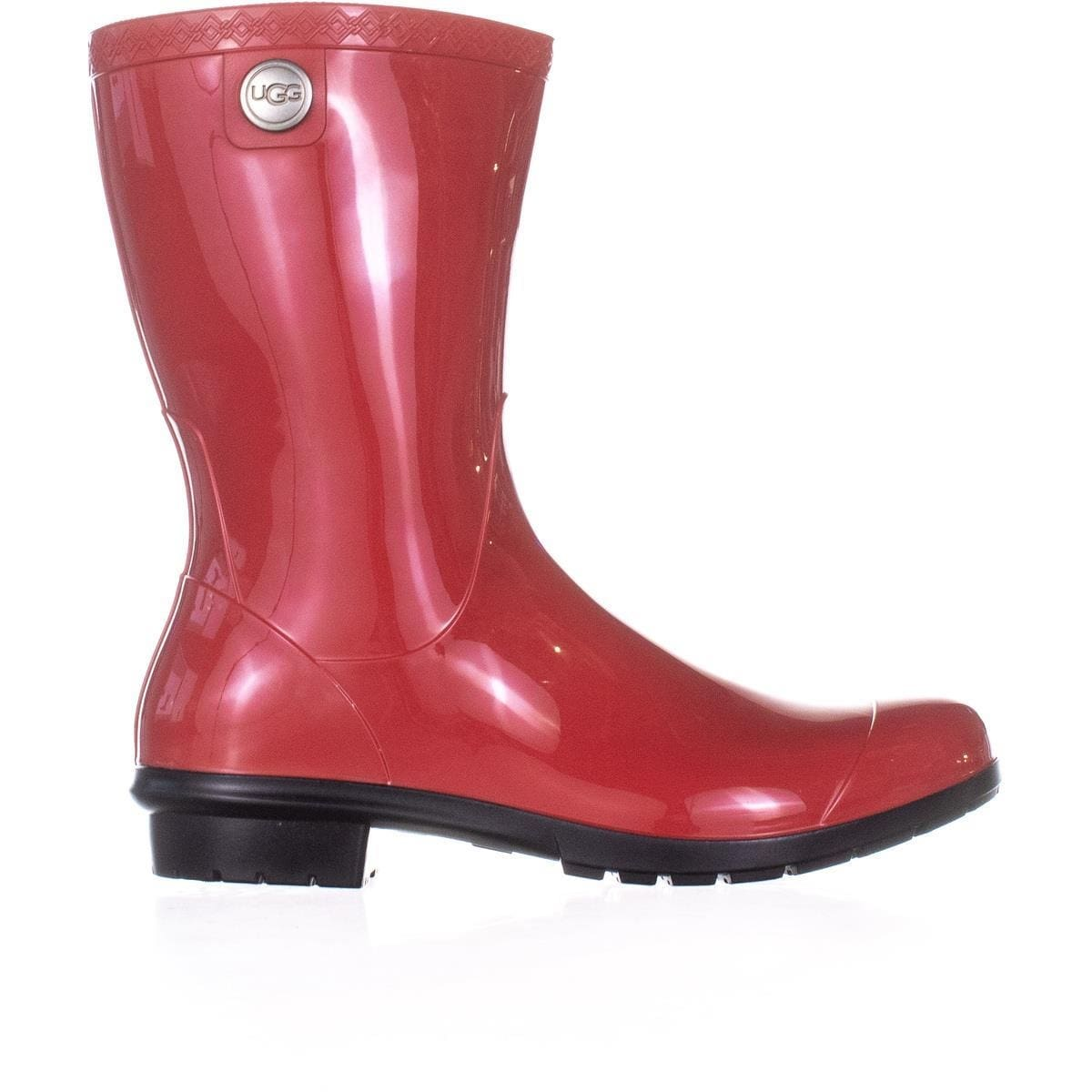 324715da008 UGG Sienna Mid-Calf Rain Boots, Tango - 9 US / 40 EU