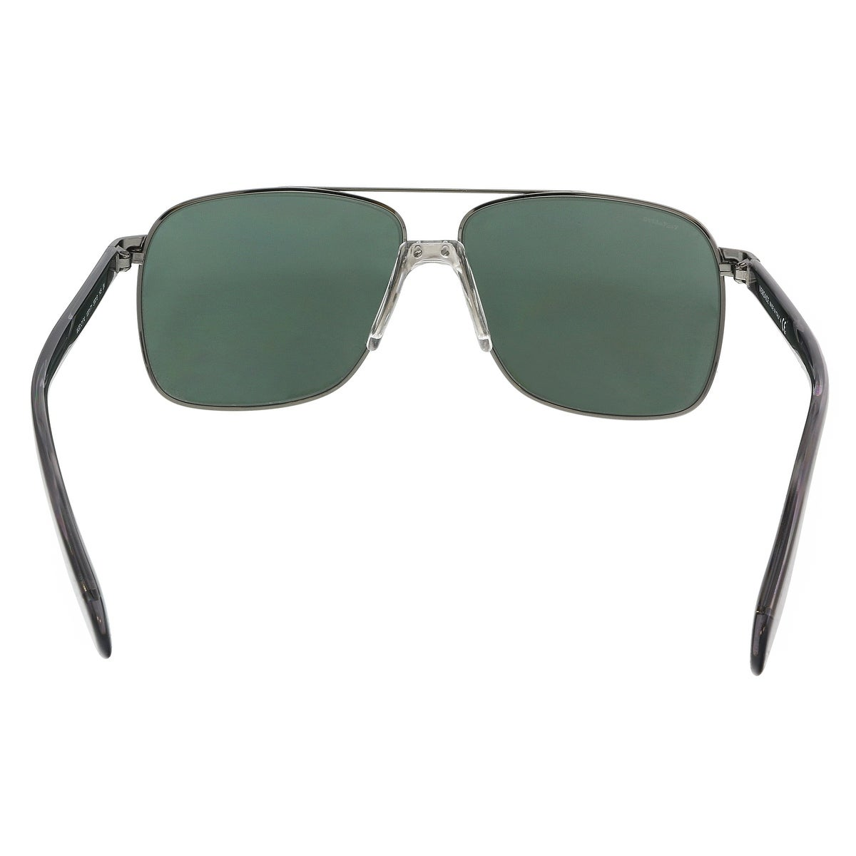 b5138e60a806 Shop Versace VE2174 100171 Gunmetal Rectangle Sunglasses - 59-13-145 - Free  Shipping Today - Overstock - 21655842