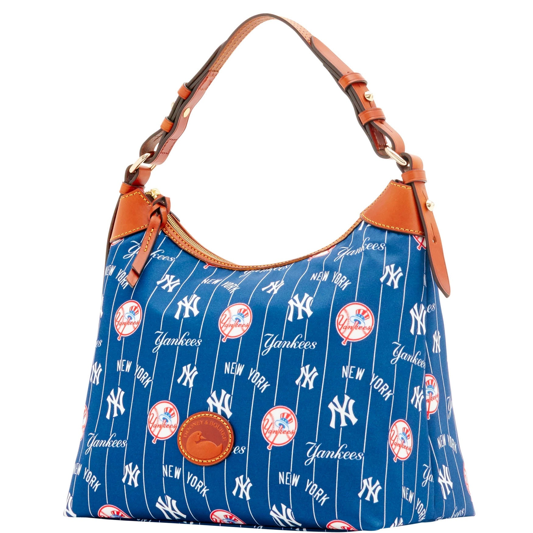 934efb421115 Dooney   Bourke MLB New York Yankees Large Erica Shoulder Bag (Introduced  by Dooney   Bourke at  168 in May 2016)